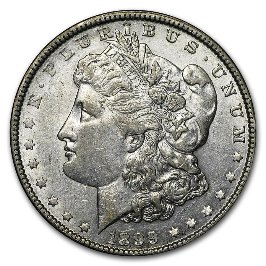 1899 Morgan Dollar XF