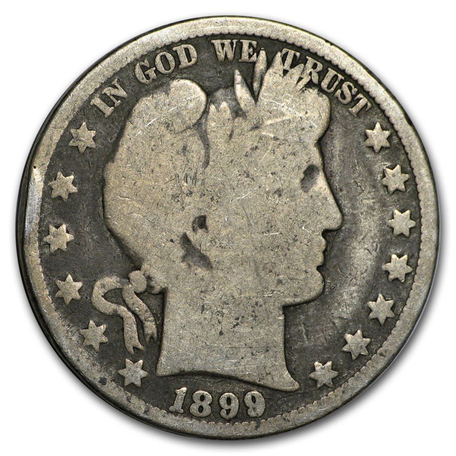 1899-O Barber Half Dollar AG