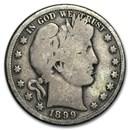 1899-O Barber Half Dollar Good