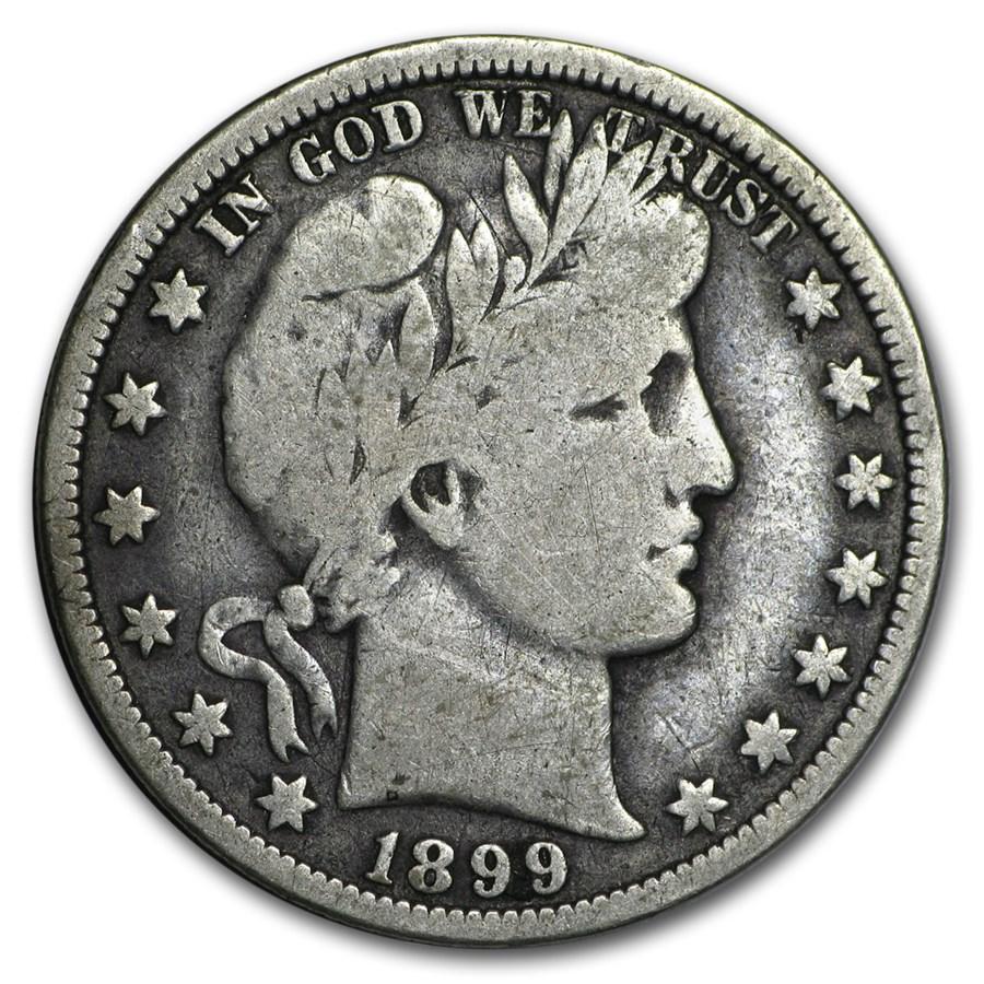 1899-O Barber Half Dollar VG