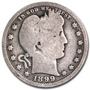 1899-O Barber Quarter Good