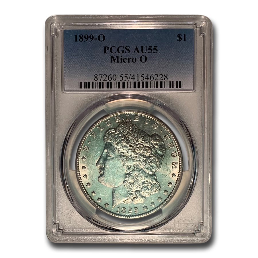 1899-O Morgan Dollar AU-55 PCGS (Micro O)