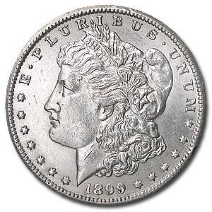 1899-O Morgan Dollar AU