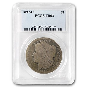 1899-O Morgan Dollar Fair-2 PCGS (Low Ball Registry)
