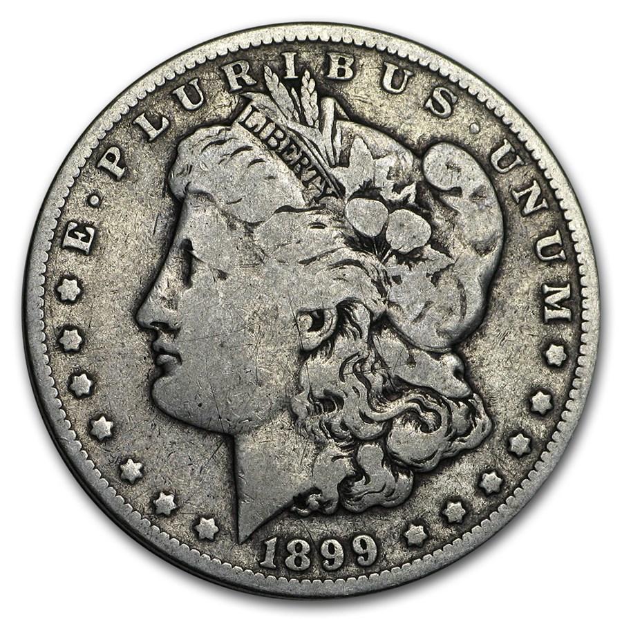 1899-O Morgan Dollar Micro-O VG/VF