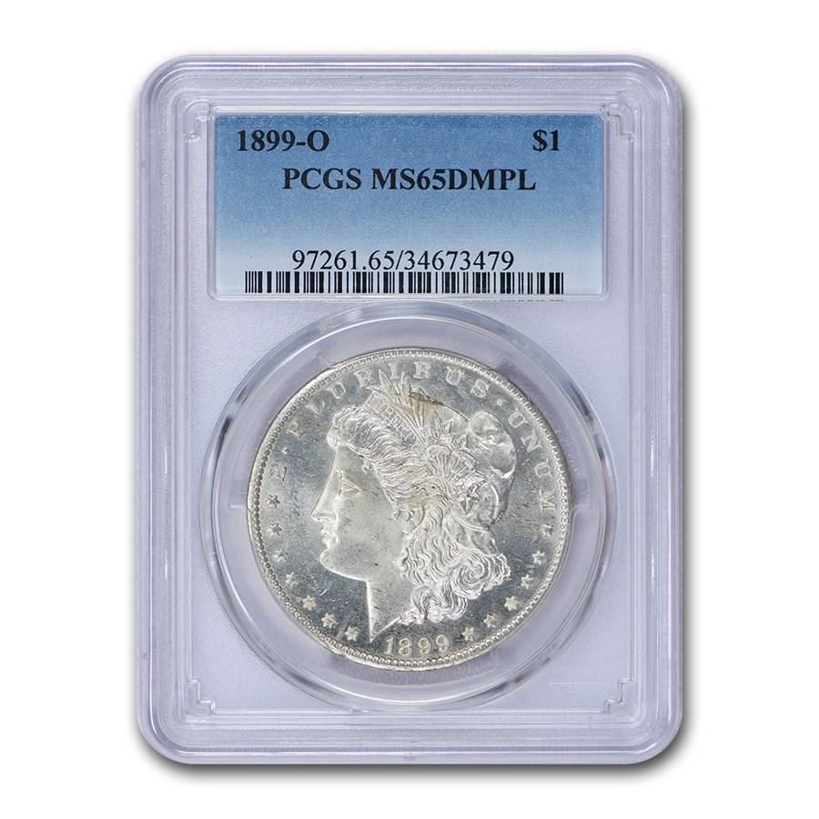 1899-O Morgan Dollar MS-65 PCGS (DMPL)