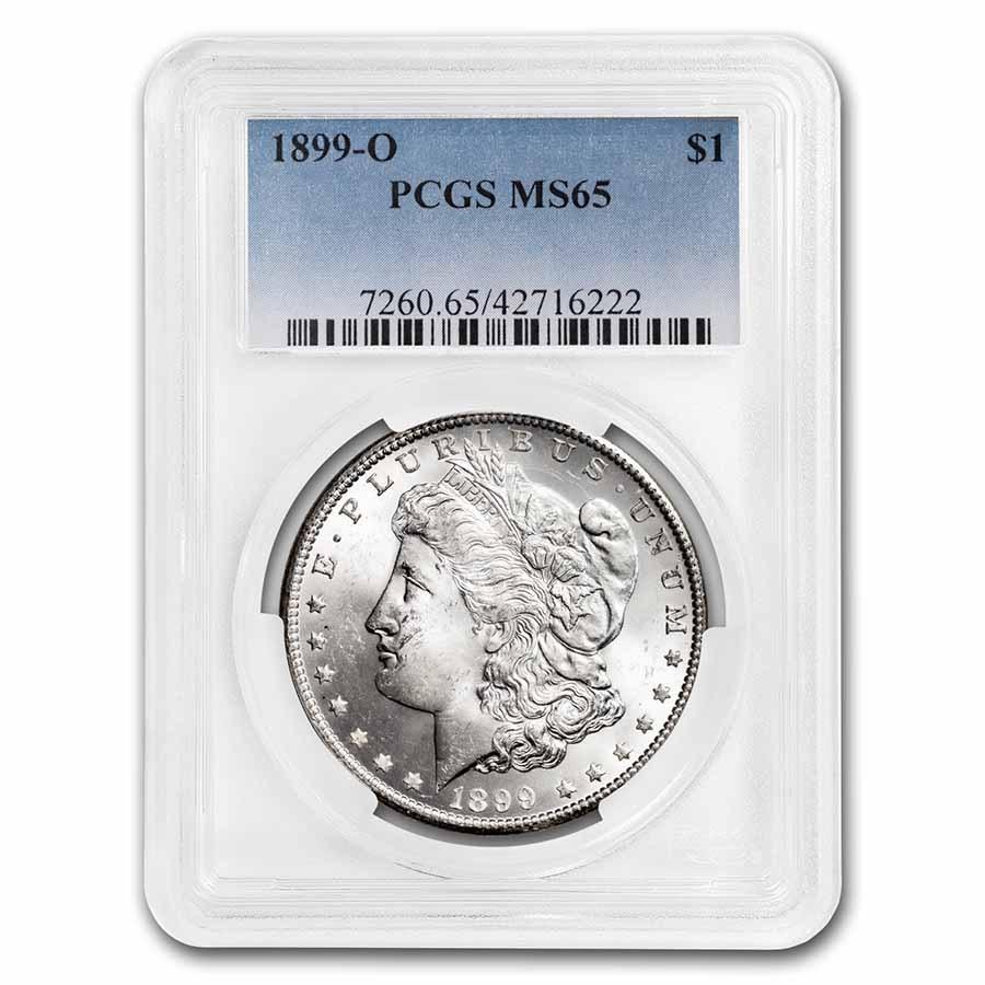 1899-O Morgan Dollar MS-65 PCGS