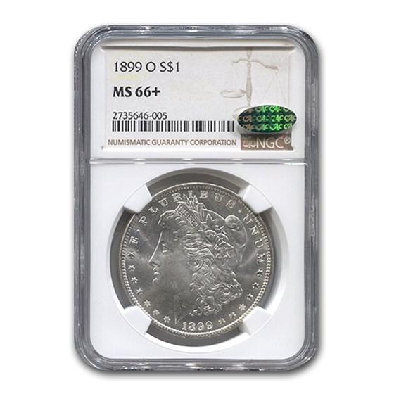 1899-O Morgan Dollar MS-66+ NGC CAC