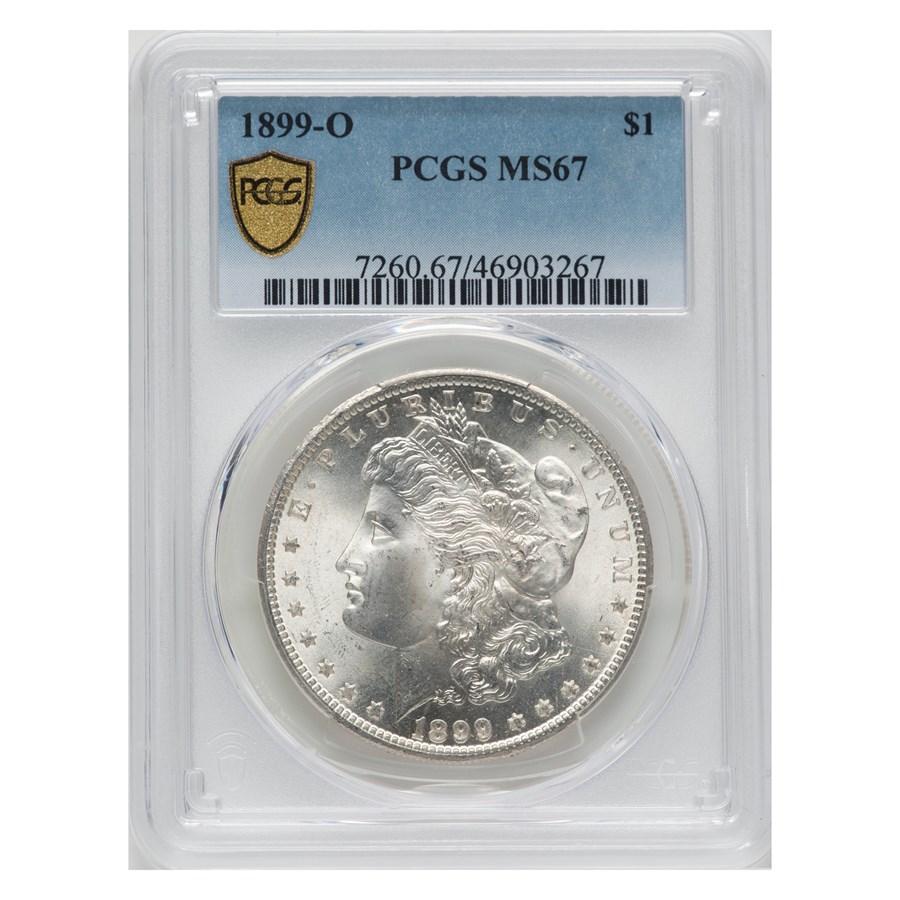 1899-O Morgan Dollar MS-67 PCGS