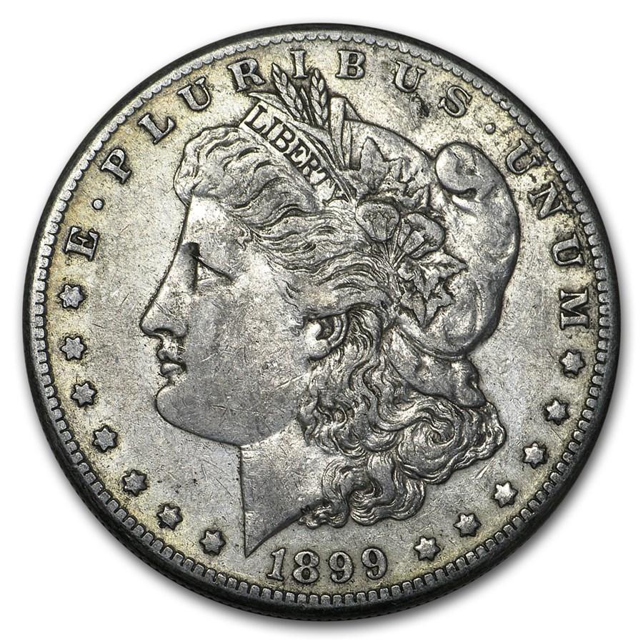 1899-O Morgan Dollar XF