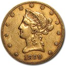 1899-S $10 Liberty Gold Eagle XF