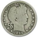 1899-S Barber Quarter Good