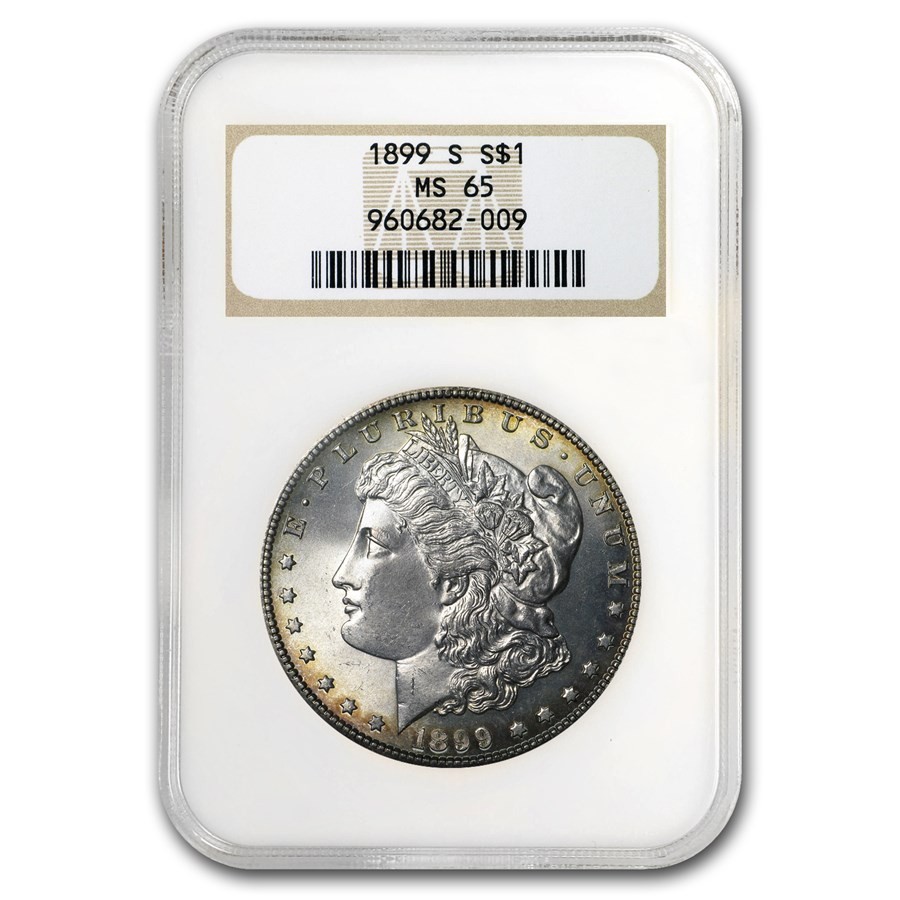 1899-S Morgan Dollar MS-65 NGC