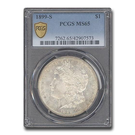 1899-S Morgan Dollar MS-65 PCGS