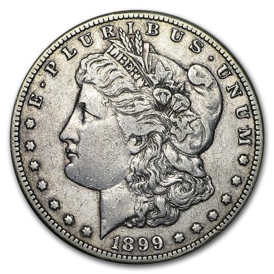 1899-S Morgan Dollar VG/VF