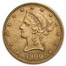 1900 $10 Liberty Gold Eagle BU