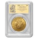 1900 $20 Liberty Gold Double Eagle BU PCGS (Prospector Label)