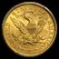 1900 $5 Liberty Gold Half Eagle MS-62 PCGS