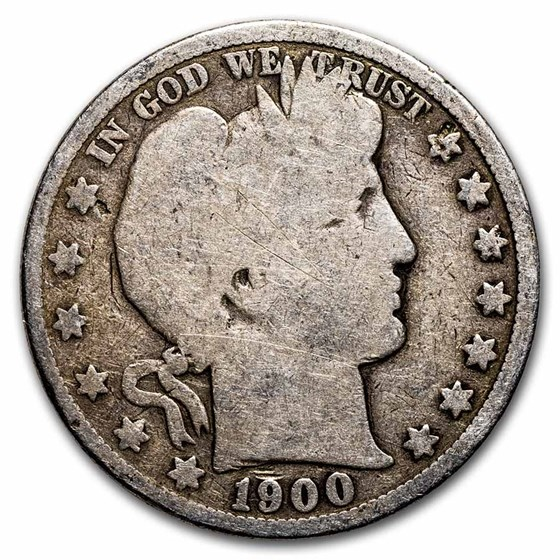 1900 Barber Half Dollar Good