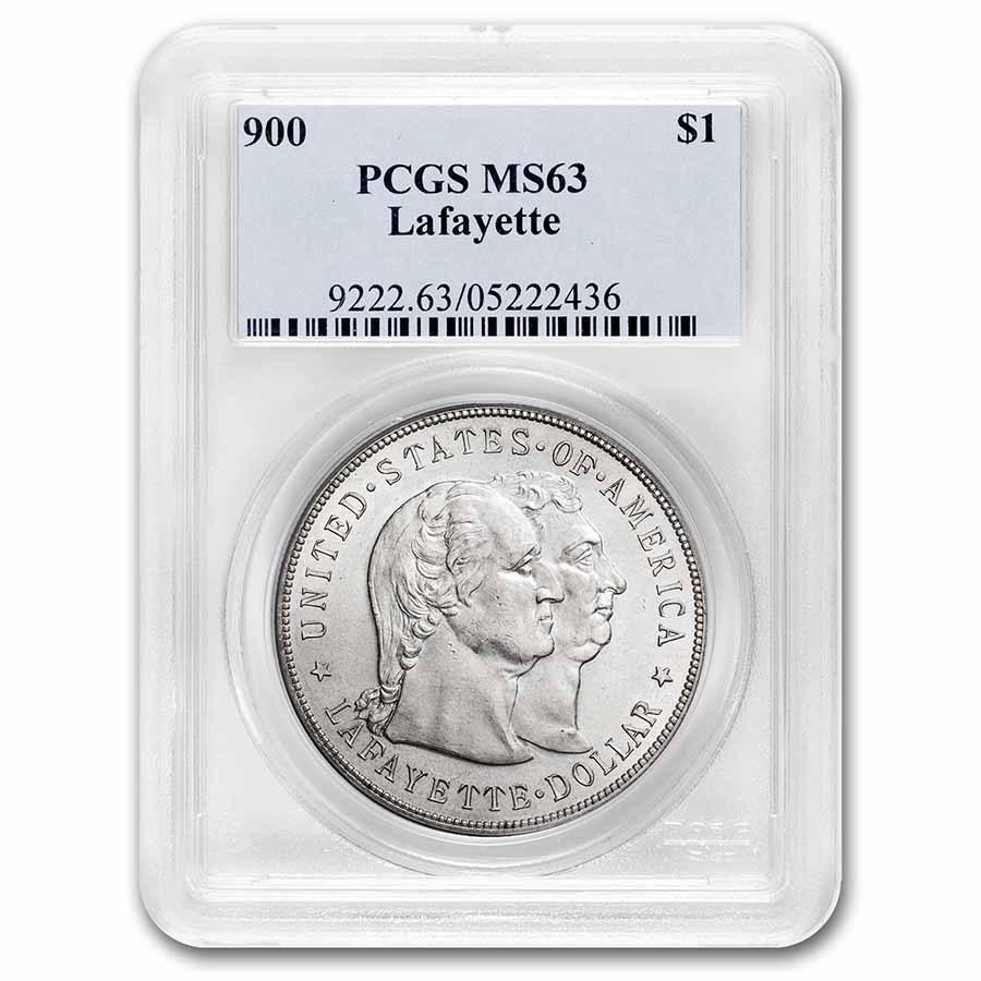 1900 Lafayette Dollar MS-63 PCGS