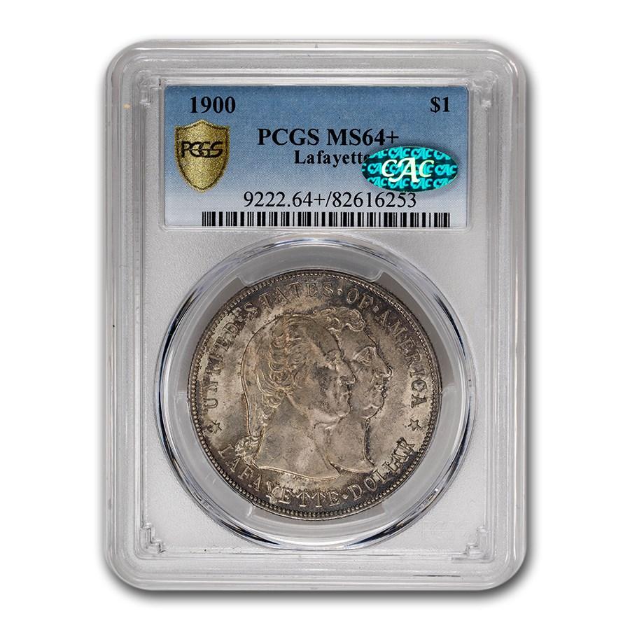 1900 Lafayette Dollar MS-64+ PCGS CAC