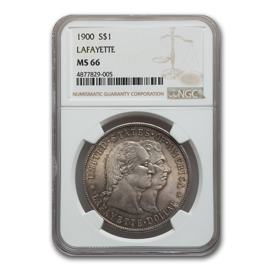 1900 Lafayette Dollar MS-66 NGC