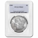 1900 Morgan Dollar MS-63 PCGS