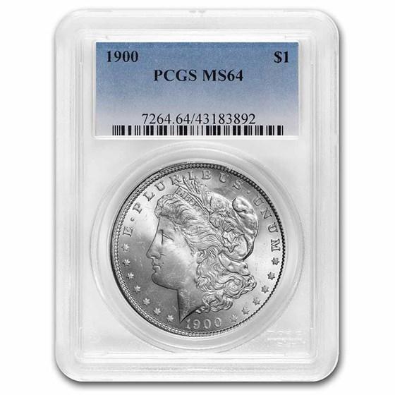 1900 Morgan Dollar MS-64 PCGS