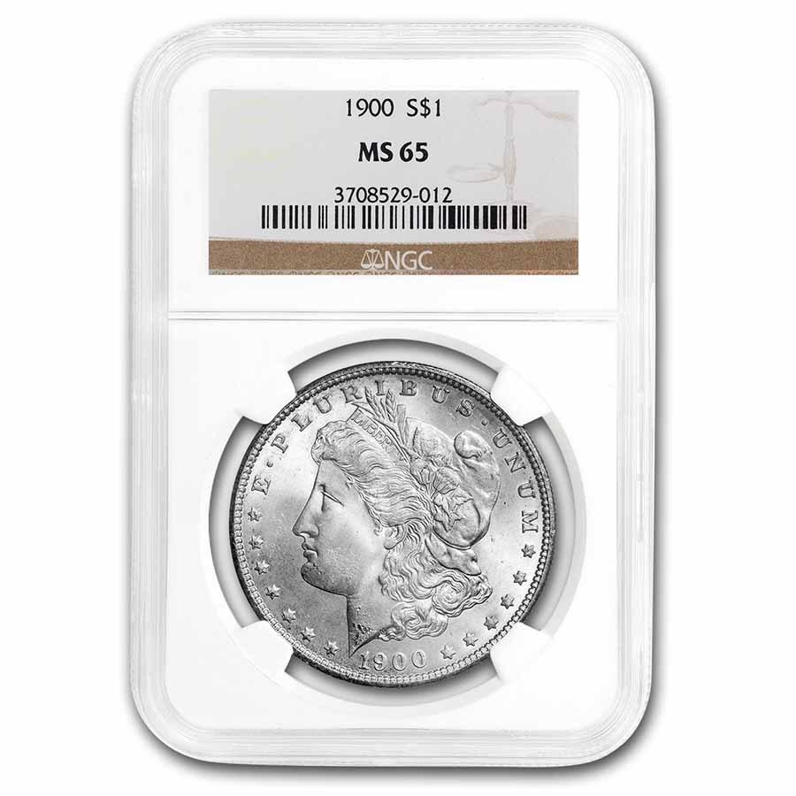 1900 Morgan Dollar MS-65 NGC