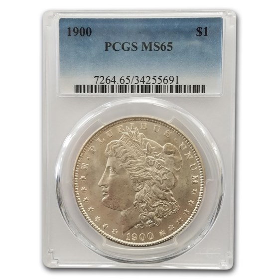 1900 Morgan Dollar MS-65 PCGS