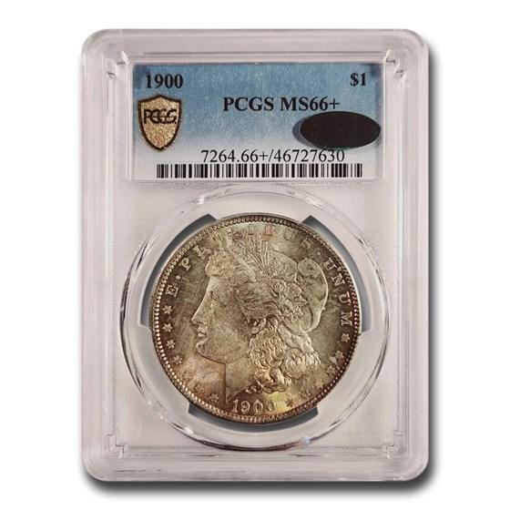 1900 Morgan Dollar MS-66+ PCGS CAC
