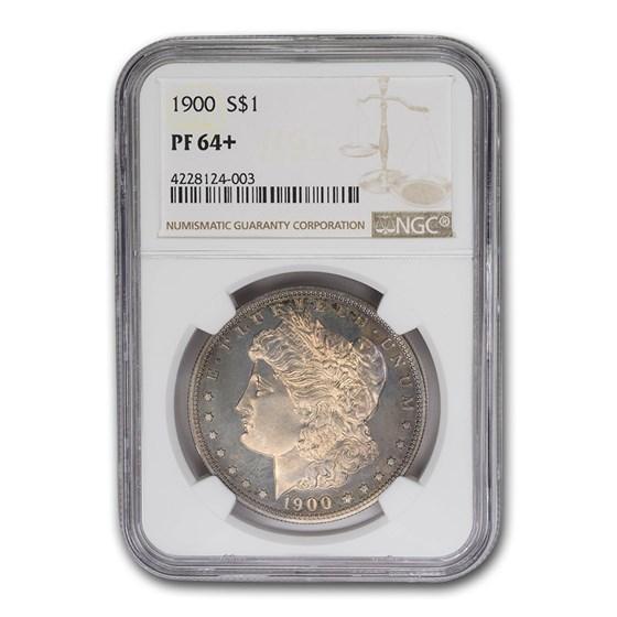 1900 Morgan Dollar PF-64+ NGC