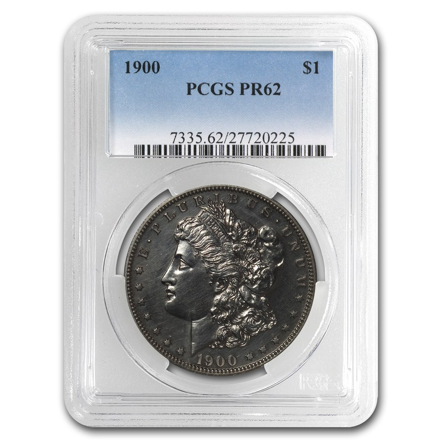 1900 Morgan Dollar PR-62 PCGS Proof