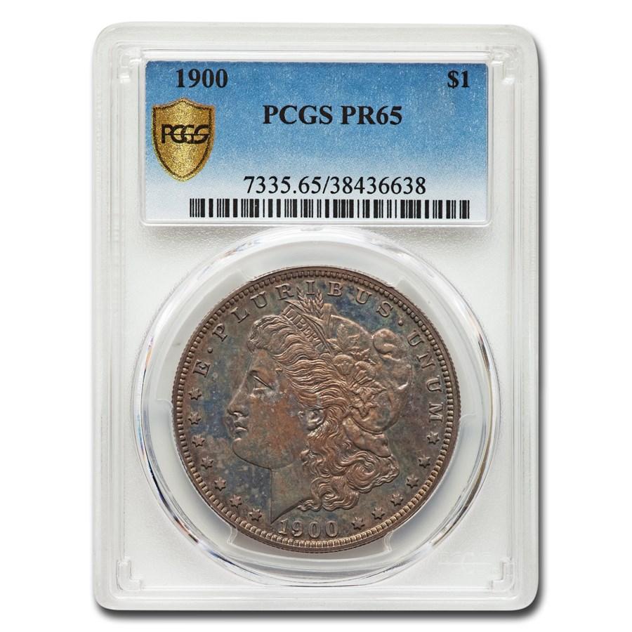 1900 Morgan Dollar PR-65 PCGS