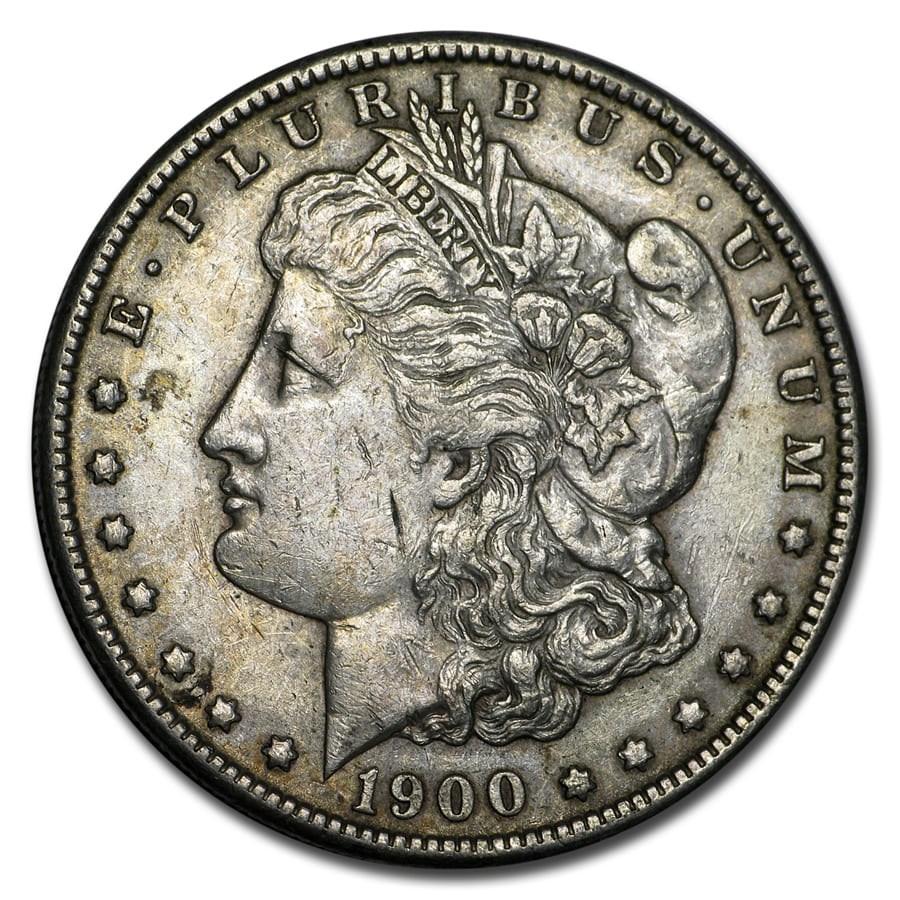 1900 Morgan Dollar XF