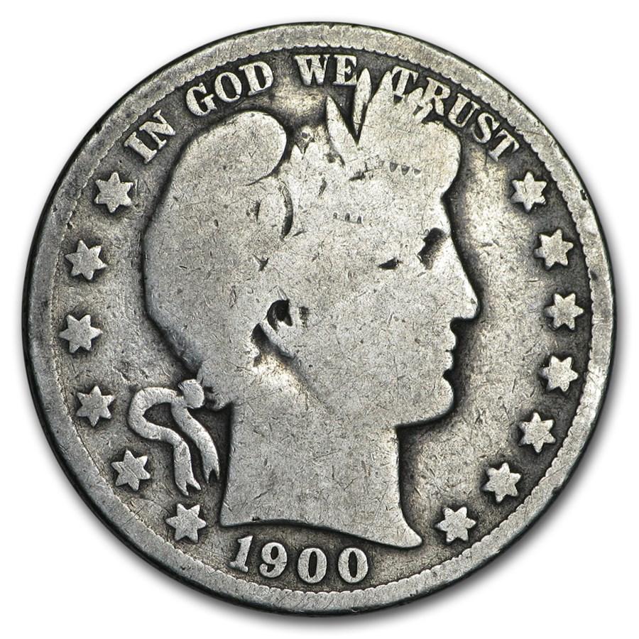 1900-O Barber Half Dollar AG
