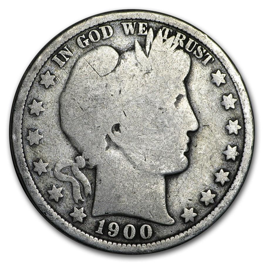 1900-O Barber Half Dollar Good