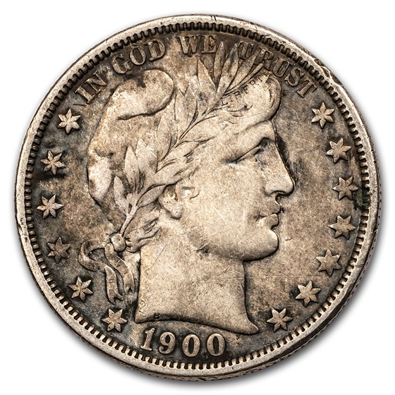 1900-O Barber Half Dollar VF