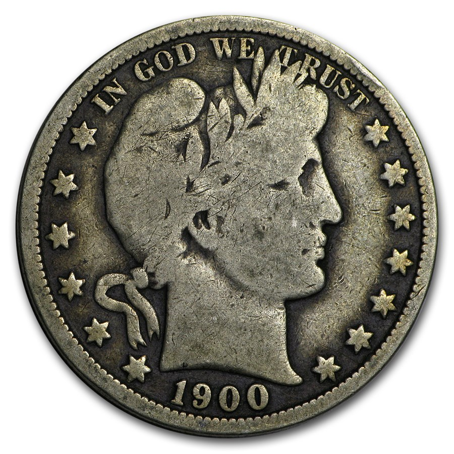 1900-O Barber Half Dollar VG