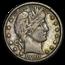 1900-O Barber Quarter VF