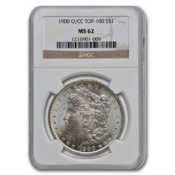 1900-O/CC Morgan Dollar MS-62 NGC
