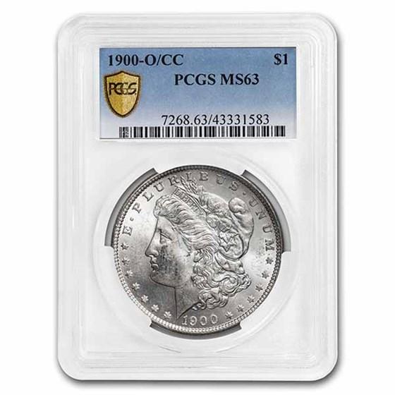 1900-O/CC Morgan Dollar MS-63 PCGS