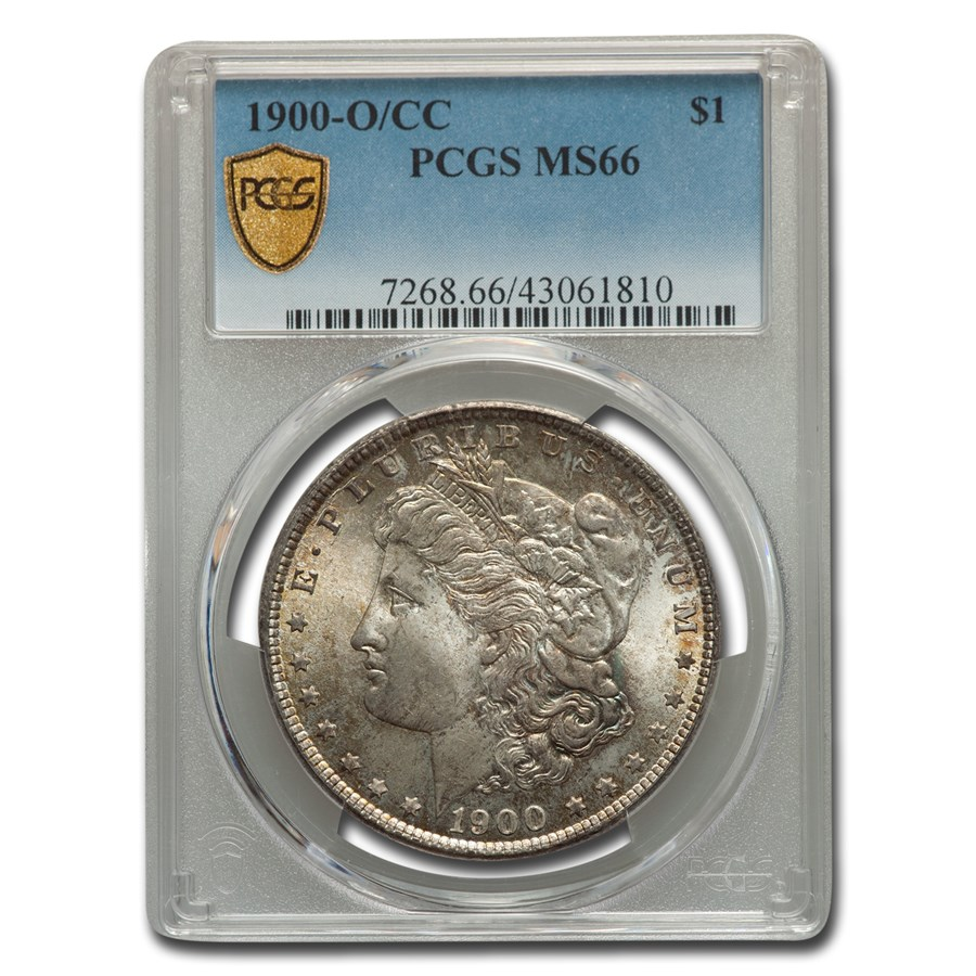 1900-O/CC Morgan Dollar MS-66 PCGS