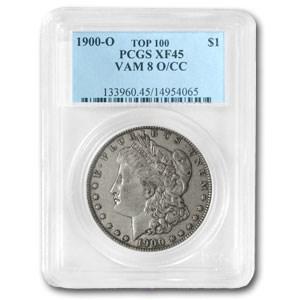 1900-O/CC XF-45 PCGS (VAM-8, O over CC, Top-100)