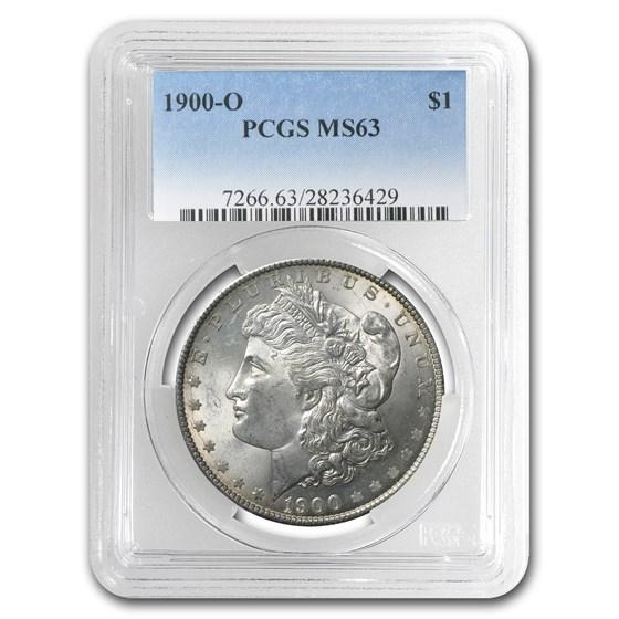 1900-O Morgan Dollar MS-63 PCGS