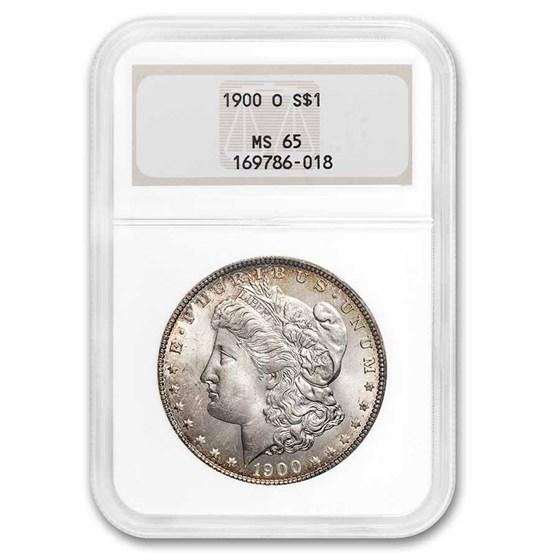 1900-O Morgan Dollar MS-65 NGC