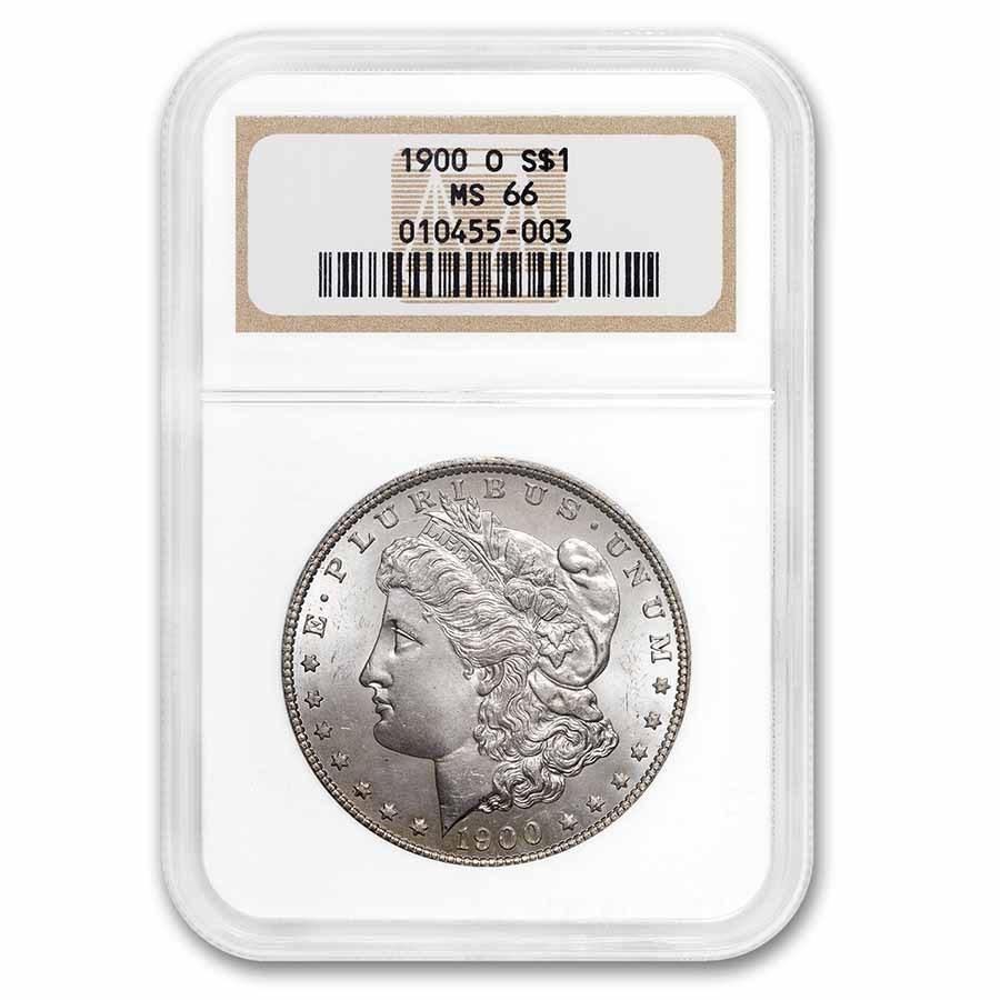1900-O Morgan Dollar MS-66 NGC