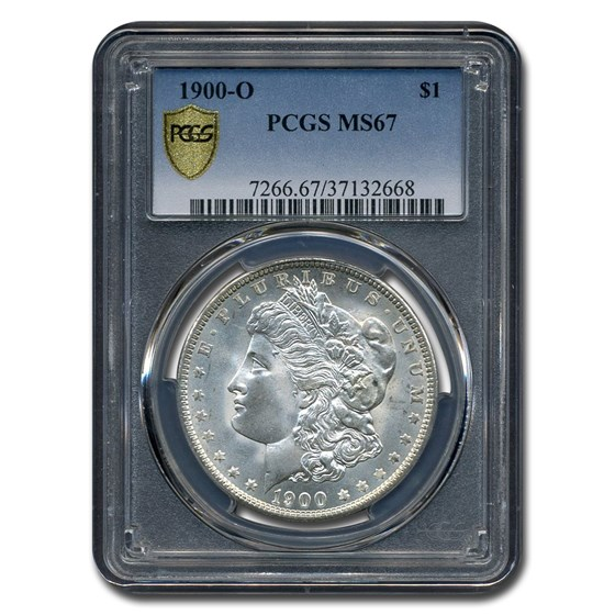 1900-O Morgan Dollar MS-67 PCGS
