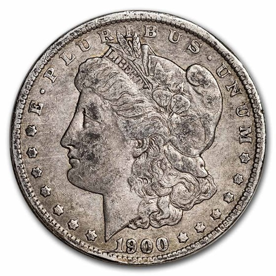 1900-O Morgan Dollar VF (VAM-29A, Obv Die Break, Top-100)
