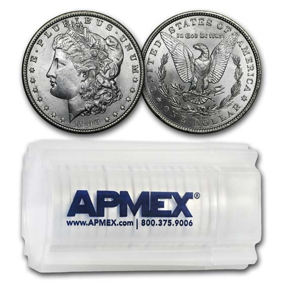 1900-O Morgan Dollars BU (20 Count Roll)
